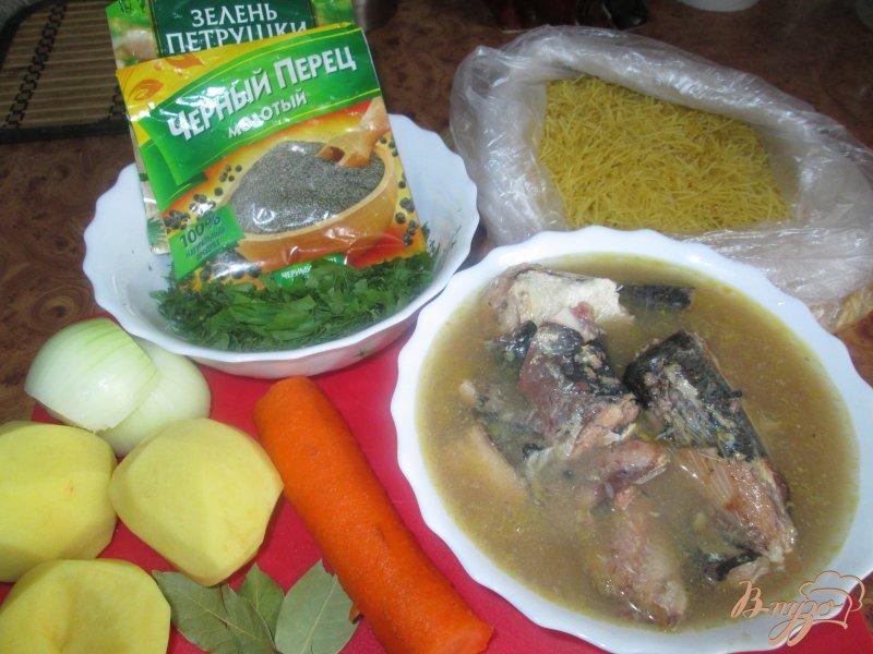Фото приготовление рецепта: Рыбный суп из сардин шаг №1