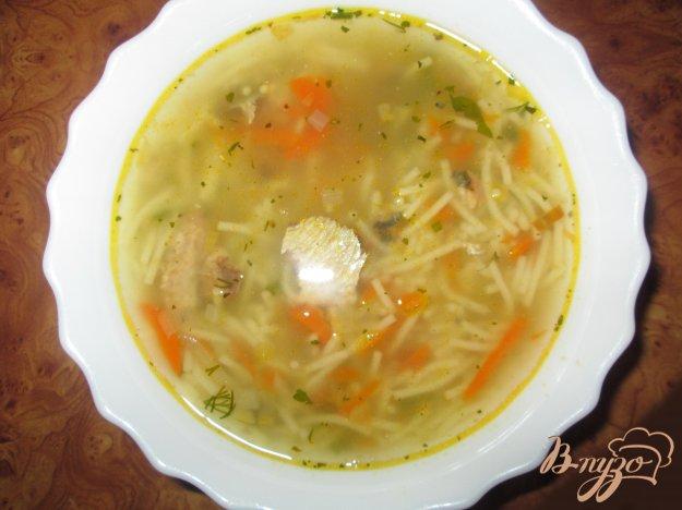 фото рецепта: Рыбный суп из сардин