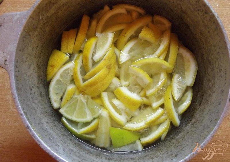 Фото приготовление рецепта: Варенье из цитрусов с кардамоном шаг №3