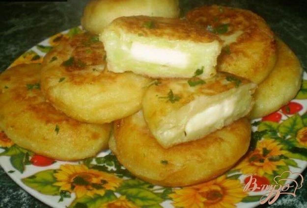 Зразы с сыром картофельные с фаршем