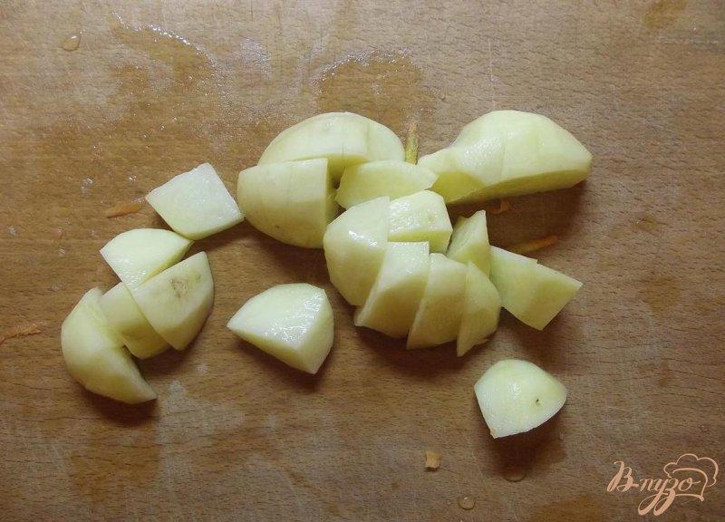 Фото приготовление рецепта: Классический суп с фрикадельками шаг №5