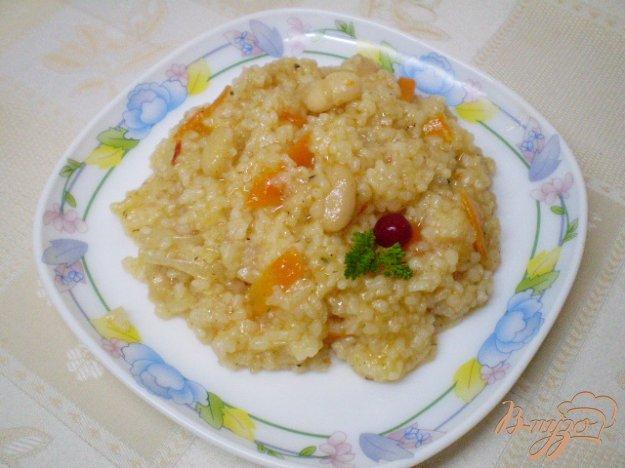 Рецепт Рис сечка в томате с фасолью