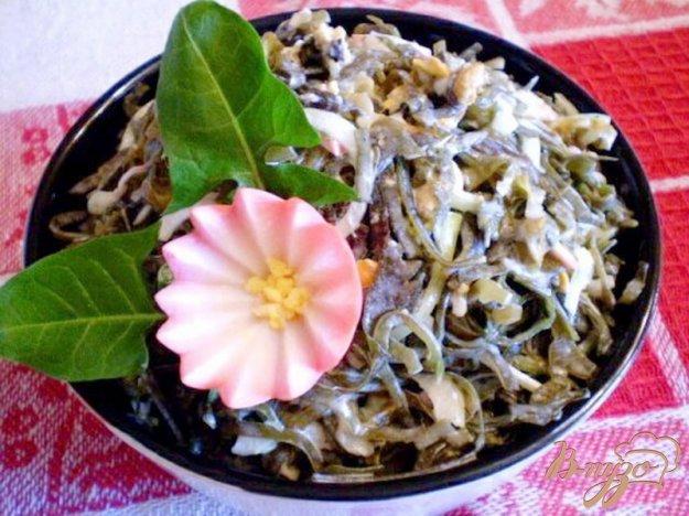 Рецепт Морская капуста с мидиями