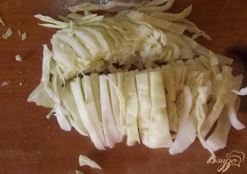 Фото приготовление рецепта: Борщ с печеными овощами шаг №5
