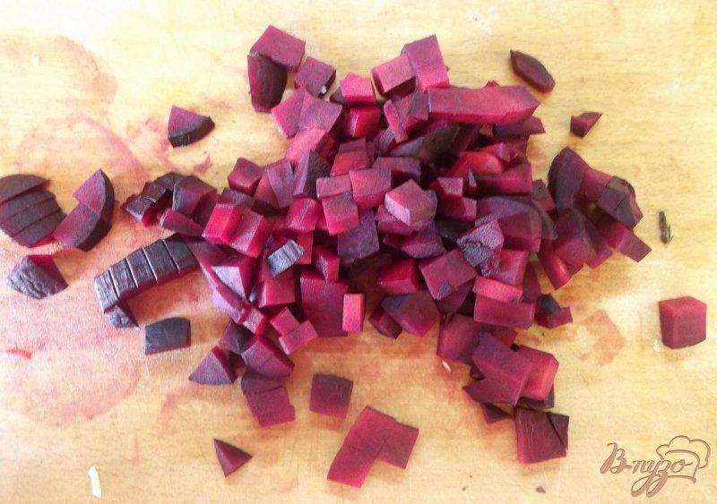 Фото приготовление рецепта: Борщ с печеными овощами шаг №6