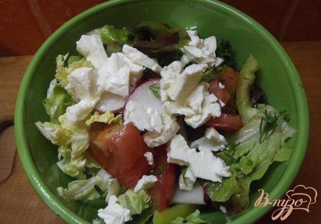 Овочевий салат з фетою. Як приготувати з фото