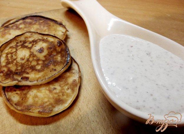 фото рецепта: Ореховый соус к блинчикам