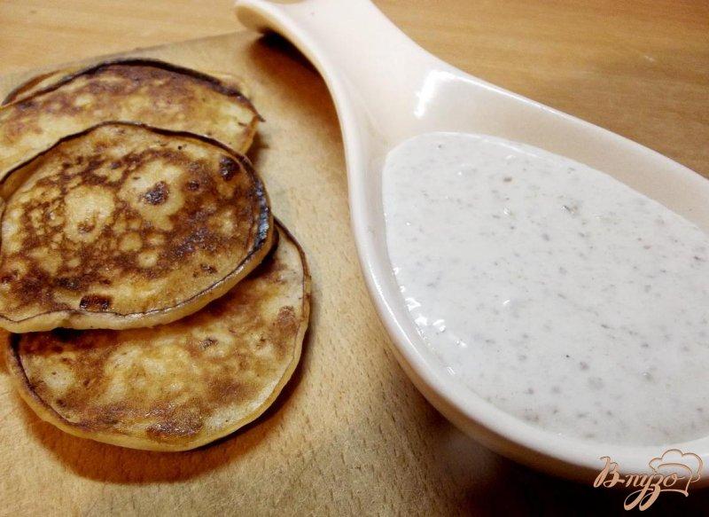 Фото приготовление рецепта: Ореховый соус к блинчикам шаг №5