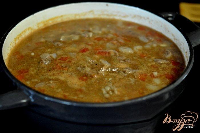 Фото приготовление рецепта: Говяжий суп шаг №3