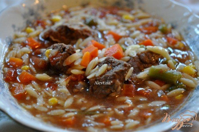 Фото приготовление рецепта: Говяжий суп шаг №5