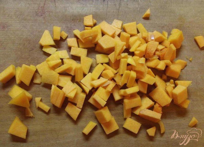 Фото приготовление рецепта: Мясной суп с тыквой шаг №5