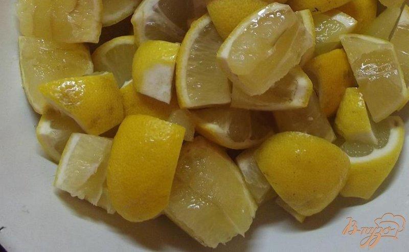 Фото приготовление рецепта: Лимонно-мятное варенье шаг №1