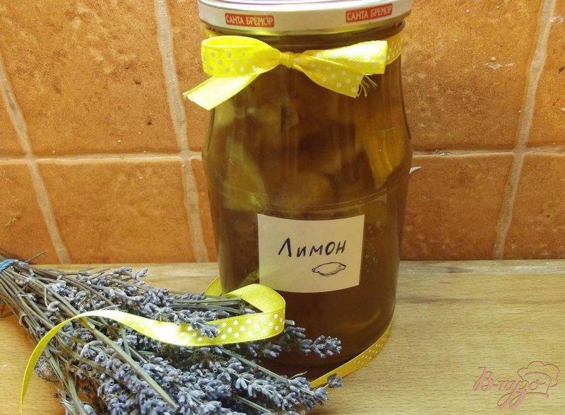 Фото приготовление рецепта: Лимонно-мятное варенье шаг №5