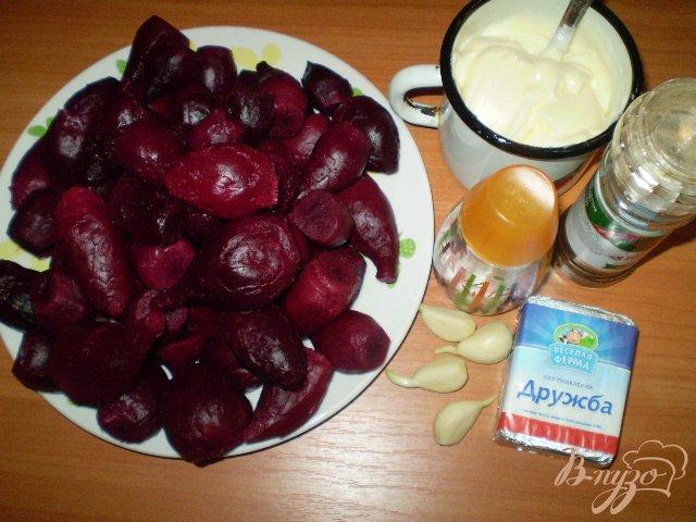 Фото приготовление рецепта: Свекольный салат шаг №1