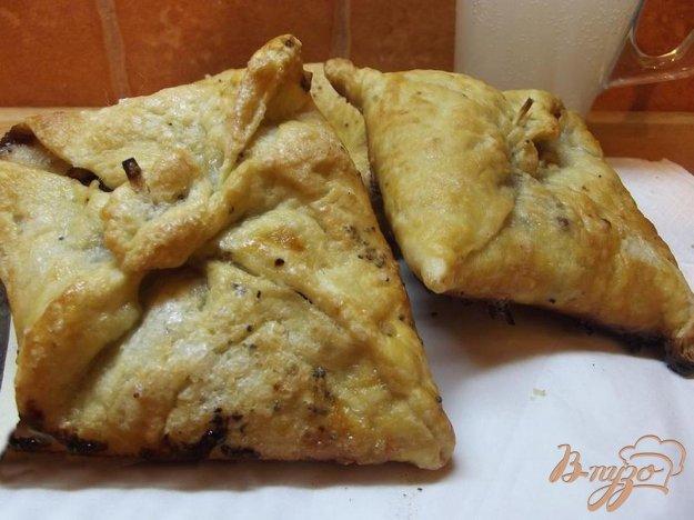 Рецепт Слойки с грушей и орехами