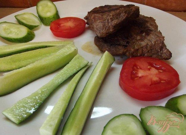 Рецепт Стейк из говядины без масла
