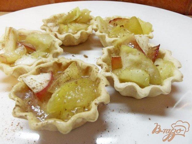 Рецепт Тарталетки со сливками и фруктами