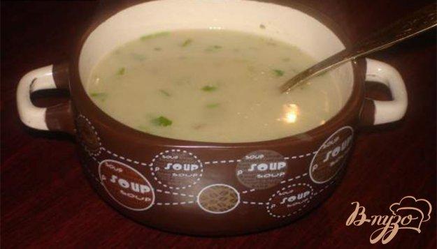 Рецепт Грибной молочный суп- пюре