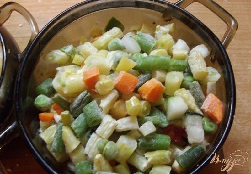Фото приготовление рецепта: Суп из овощей аль денте шаг №4