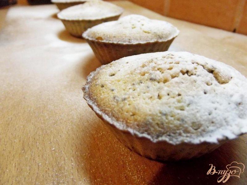 Фото приготовление рецепта: Кексы маковые шаг №5