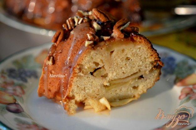 Рецепт Карамельный яблочный кекс