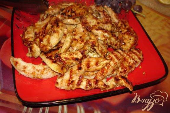 Рецепт Курочка на гриле с горчицей
