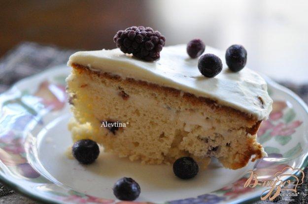 Рецепт Кекс с ягодами и готовым пудингом