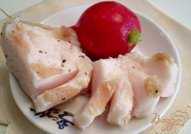 Рецепт Сало соленое с черным перцем