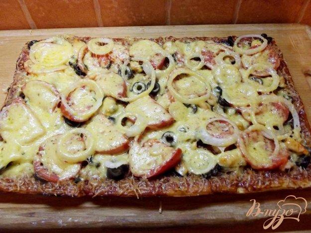 Рецепт пиццы с морепродуктами в домашних условиях