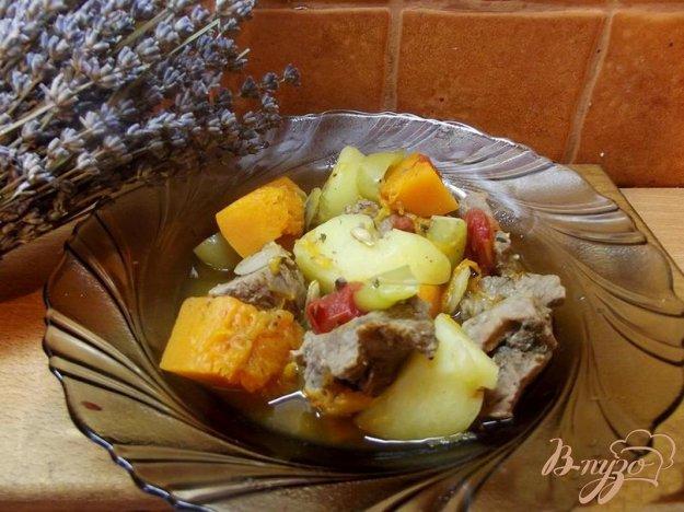 фото рецепта: Рагу мясное с тыквой