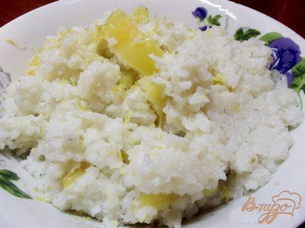 Рецепт Рис с лимоном и овощами