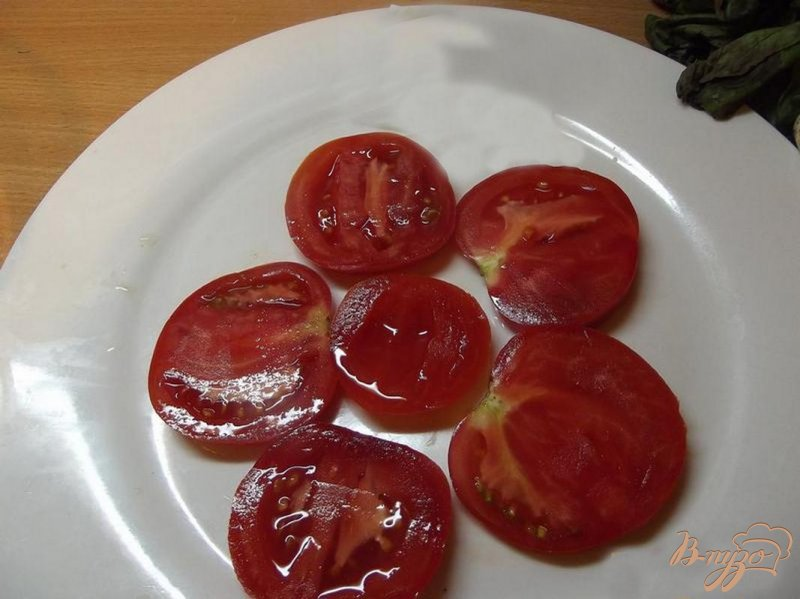 Фото приготовление рецепта: Салат овощной порционный шаг №1
