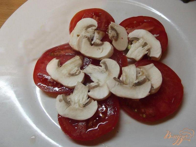 Фото приготовление рецепта: Салат овощной порционный шаг №3
