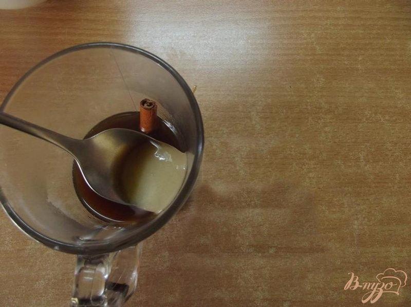 Фото приготовление рецепта: Медовый напиток с кофе шаг №4