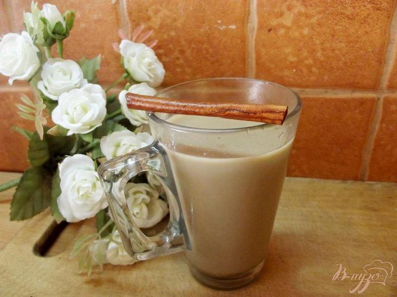 Фото приготовление рецепта: Медовый напиток с кофе шаг №5