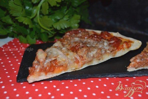 Рецепт Пицца с мясным фаршем