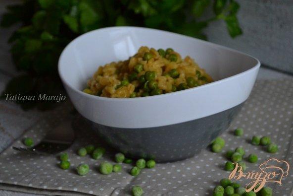 Рецепт Гарнир с перловой крупой и зеленым горошком