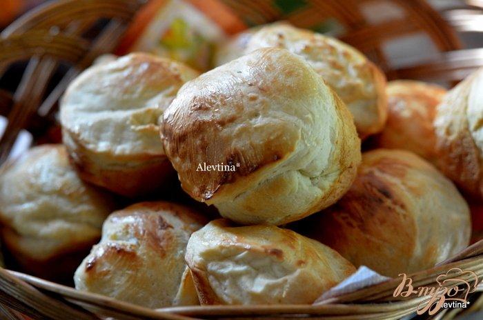 Фото приготовление рецепта: Булочки для вашего ужина шаг №4