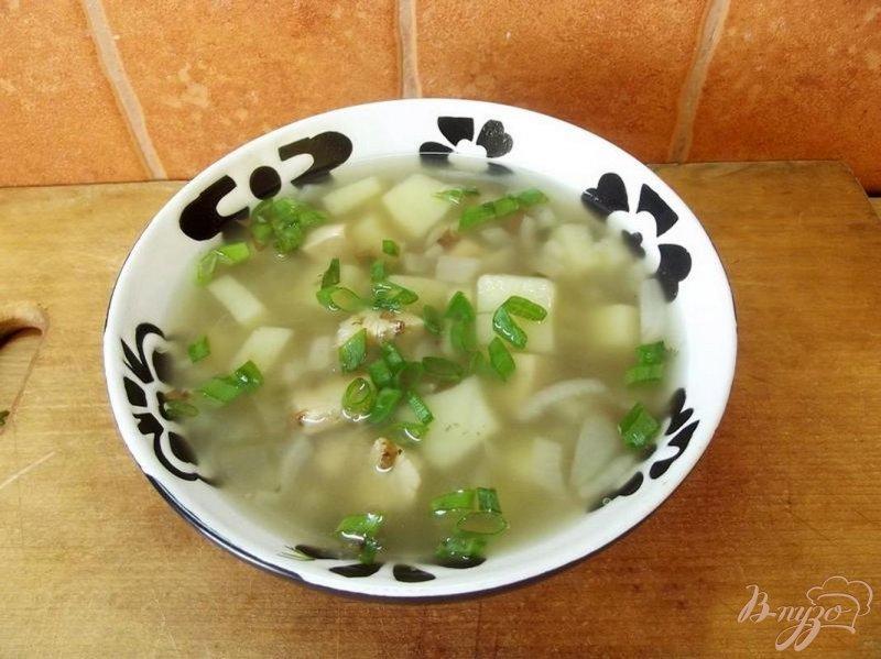 Фото приготовление рецепта: Суп куриный с гречкой шаг №6