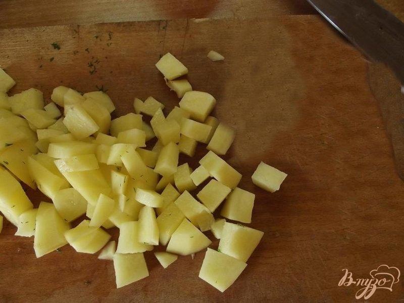 Фото приготовление рецепта: Суп куриный с гречкой шаг №3