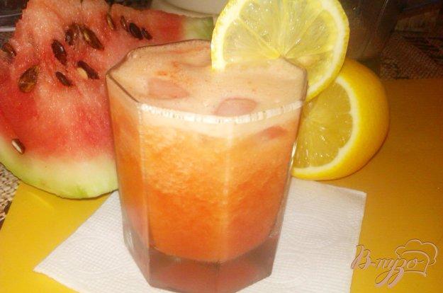 Рецепт Арбузный напиток с апельсиновым соком