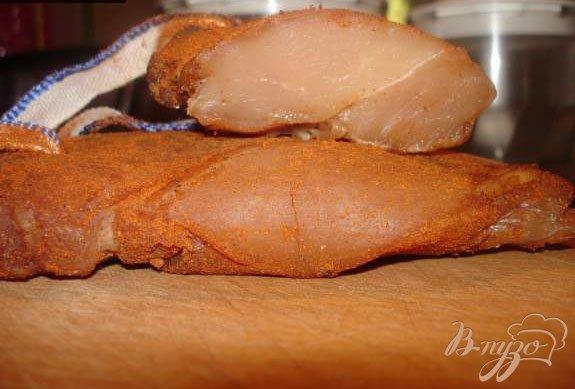 Рецепт Вяленая куриная грудка