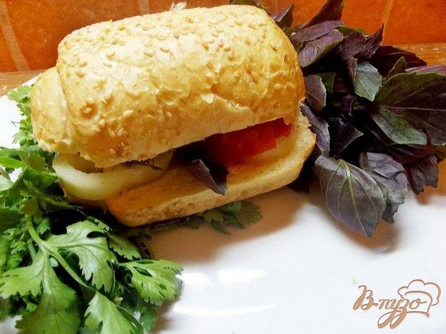 Рецепт Кавказский сэндвич с бараниной