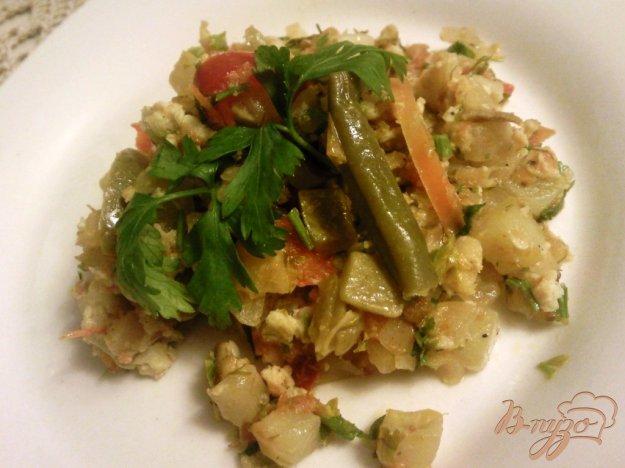фото рецепта: Овощи в яично-чесночной заливке