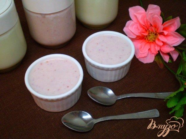 Рецепт Земляничный йогурт