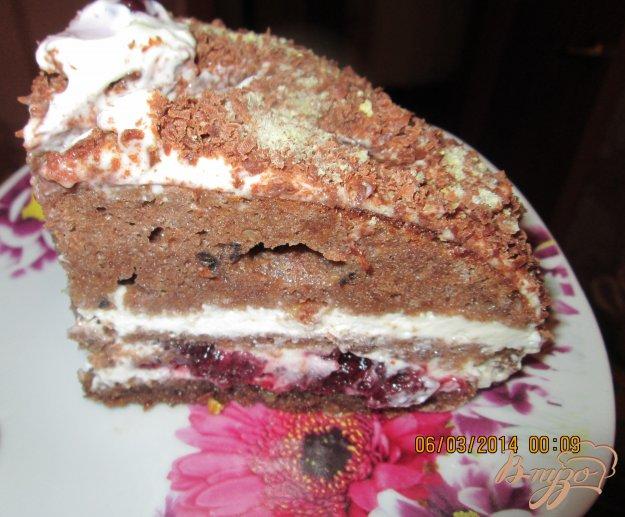 Рецепт Шварцвальдский вишневый торт