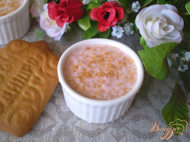 Рецепт Йогуртный десерт с печеньем