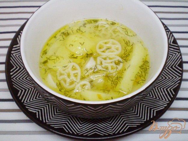 фото рецепта: Макаронный суп