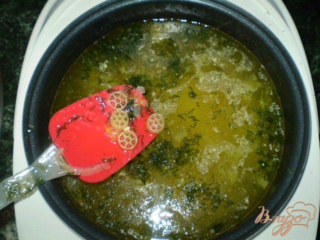 Фото приготовление рецепта: Макаронный суп шаг №5