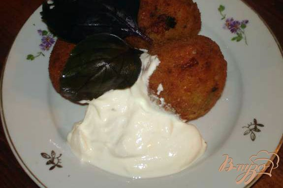 Фото приготовление рецепта: Картофельные крокеты шаг №4